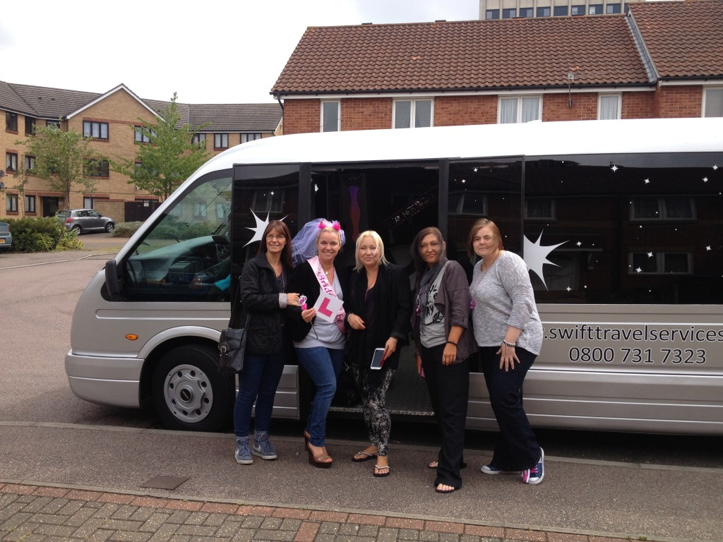 Fun bus hire in London, Essex and Hertfordshire