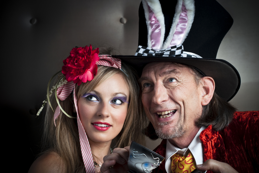 Alice and Mad Hatter - iStock_000016046965_Medium