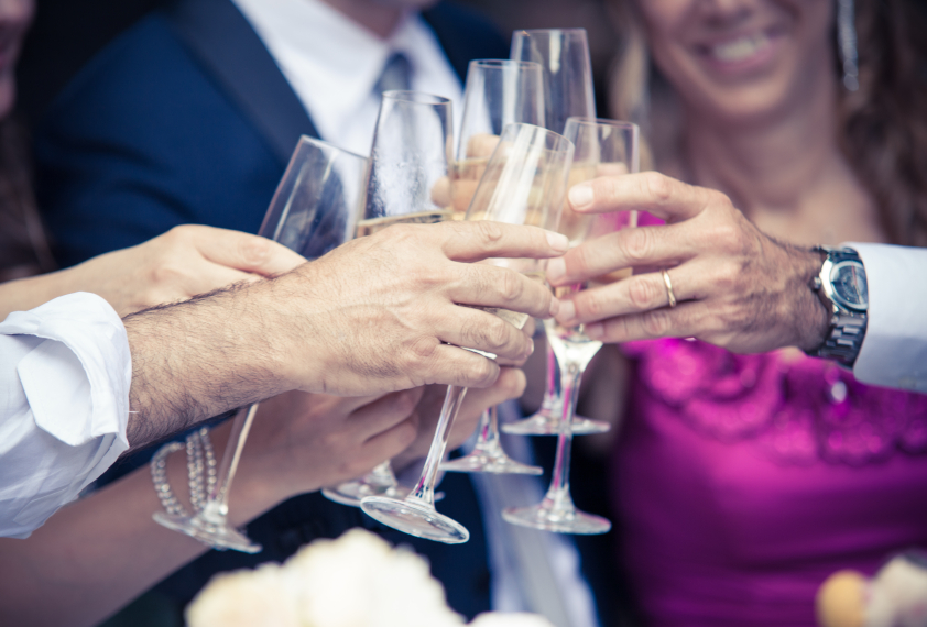 Champagne toast iStock_000066846787_Small