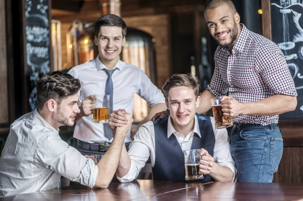 Men on a Night Out - iStock_000051480652_Medium