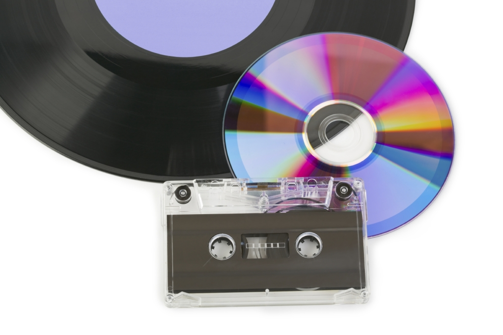 Vinyl CD and Tape -iStock_000016202891_Medium